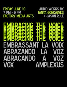 Embracing the Voice